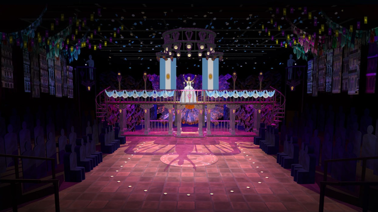 Telling The Story Of Evita With Scenic Design Orlando Shakes