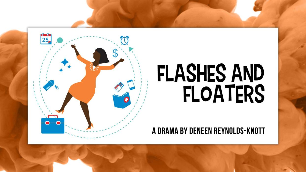 Flashes & Floaters Play Reading Artwork
